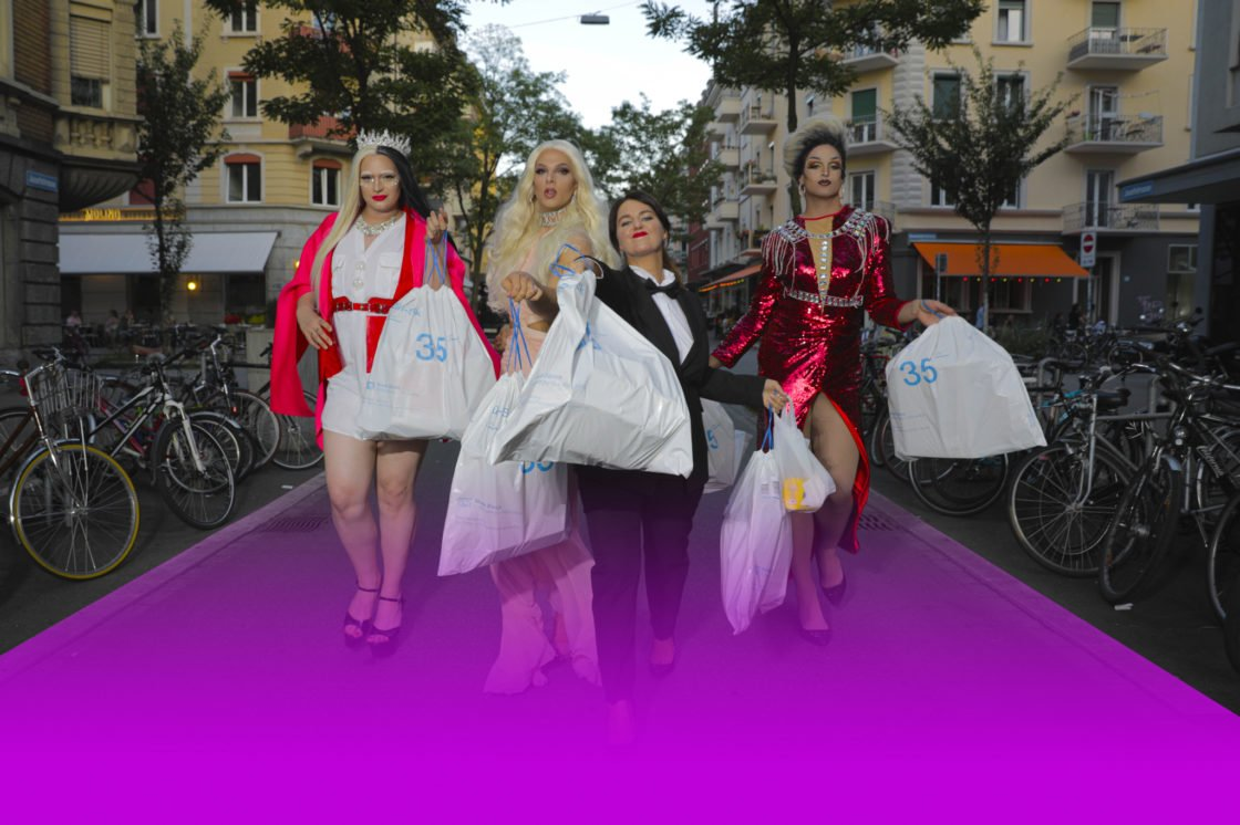 Die Crew von Late Night Drag